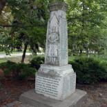 Obnova spomenika srpskim dobrovoljcima iz Prvog svetskog rata u Novom Miloševu